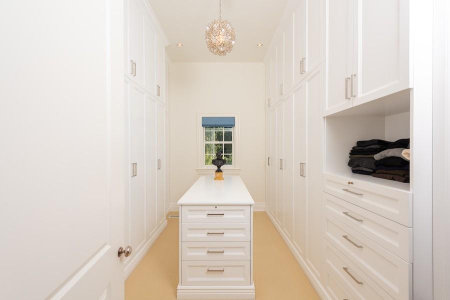 Real Estate Photography - 174 Beach Road, Glencoe, IL, 60022 - Master Bedroom Closet
