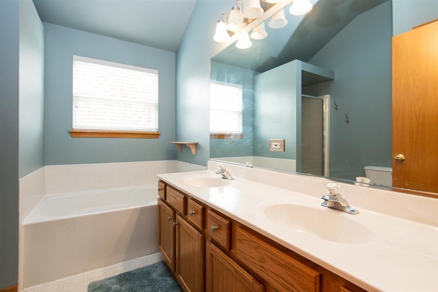 Real Estate Photography - 948 Asbury Dr, Aurora, IL, 60502 - Master Bathroom