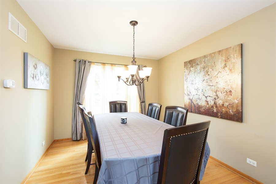 Real Estate Photography - 948 Asbury Dr, Aurora, IL, 60502 - Dining Room