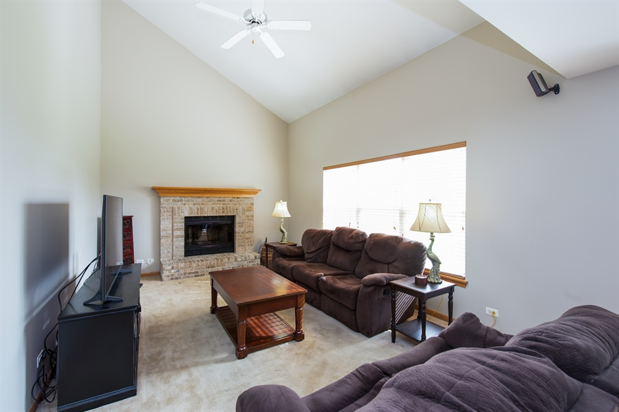 Real Estate Photography - 948 Asbury Dr, Aurora, IL, 60502 - Family Room
