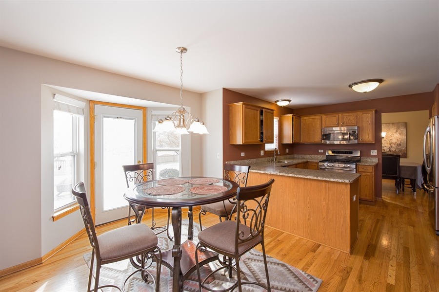 Real Estate Photography - 948 Asbury Dr, Aurora, IL, 60502 - Dining Area