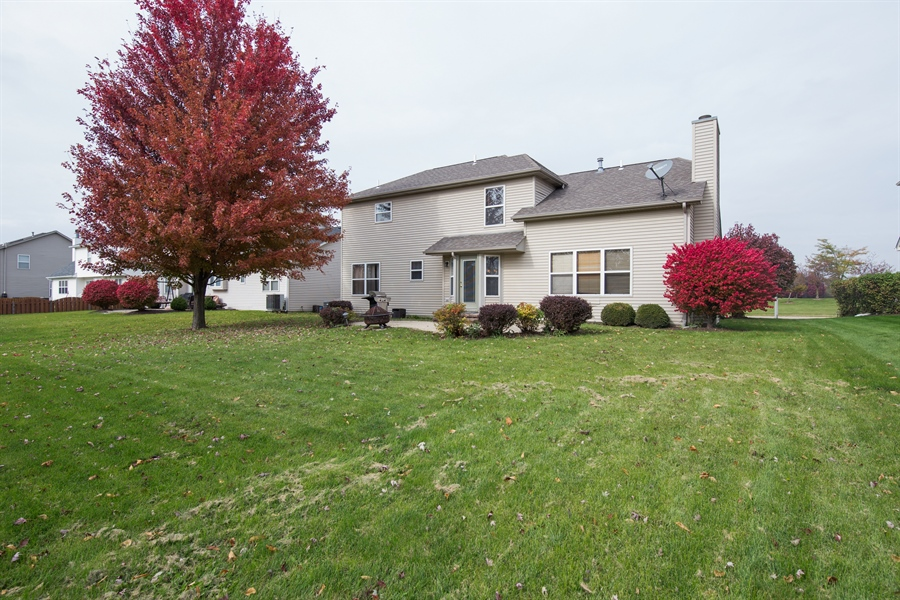 Real Estate Photography - 948 Asbury Dr, Aurora, IL, 60502 - Rear View