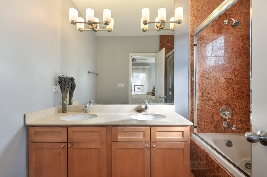 Real Estate Photography - 1246 N Noble, 2, Chicago, IL, 60642 - Master Bathroom