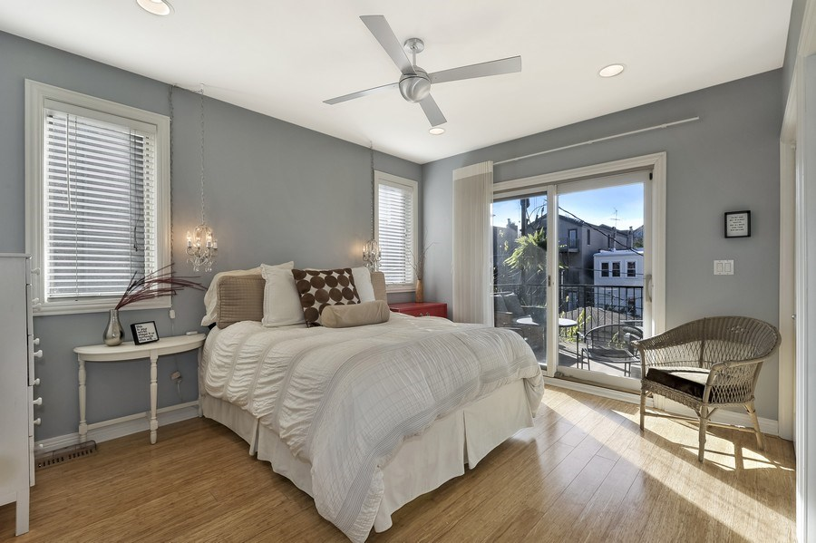 Real Estate Photography - 1246 N Noble, 2, Chicago, IL, 60642 - Master Bedroom
