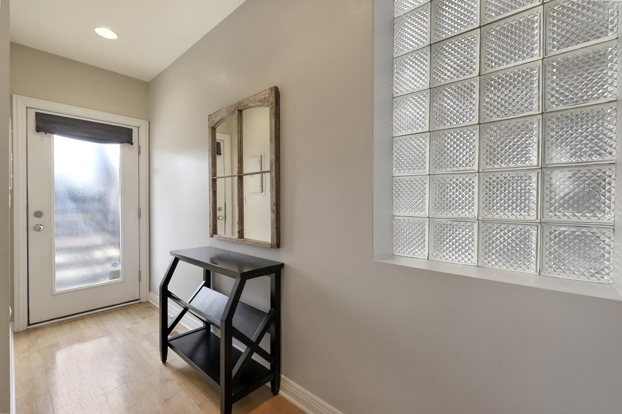 Real Estate Photography - 1246 N Noble, 2, Chicago, IL, 60642 - Mudroom