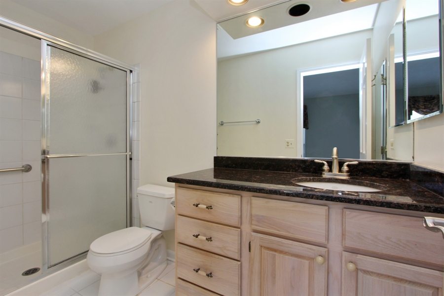 Real Estate Photography - 882 Shambliss, Buffalo Grove, IL, 60089 - Master Bathroom