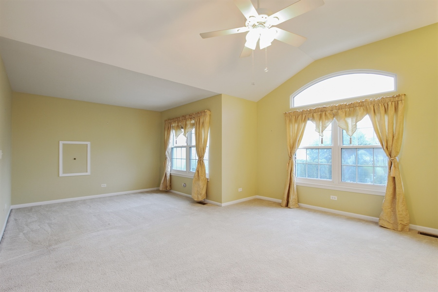 Real Estate Photography - 37156 Deerpath Dr, Lake Villa, IL, 60046 - Master Bedroom