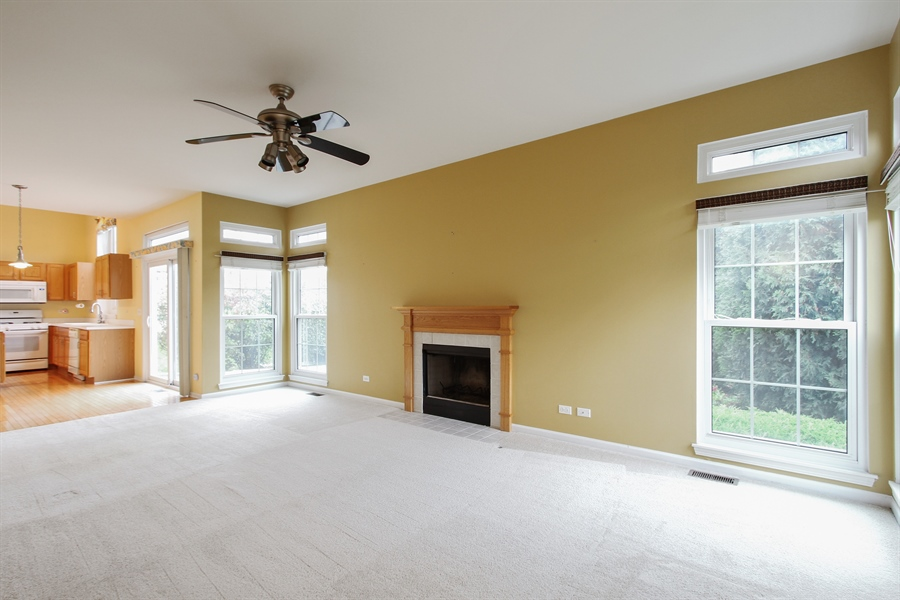 Real Estate Photography - 37156 Deerpath Dr, Lake Villa, IL, 60046 - Family Room