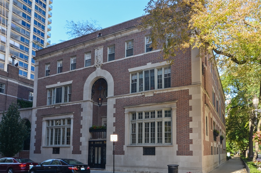 Real Estate Photography - 40 West Schiller, 1B, Chicago, IL, 60610 - Front View