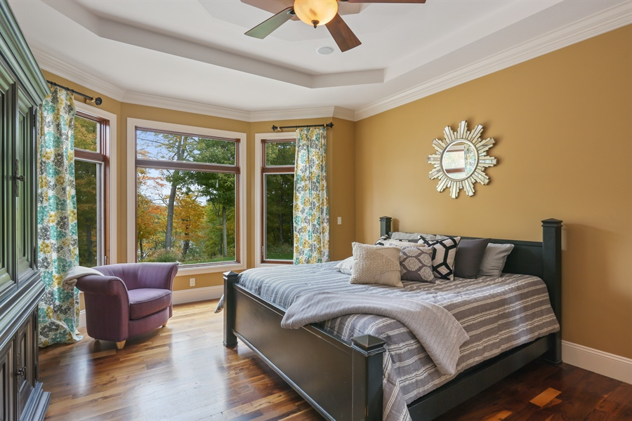 Real Estate Photography - 4945 S Stockbridge Dr, St. Joseph, MI, 49085 - Master Bedroom