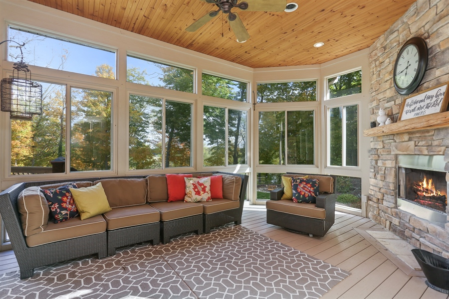 Real Estate Photography - 4945 S Stockbridge Dr, St. Joseph, MI, 49085 - Sun Room