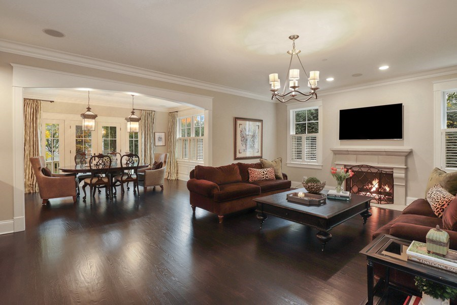 Real Estate Photography - 216 W Cook Avenue, Libertyville, IL, 60048 - Great Room