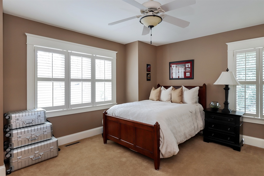 Real Estate Photography - 216 W Cook Avenue, Libertyville, IL, 60048 - 2nd Bedroom