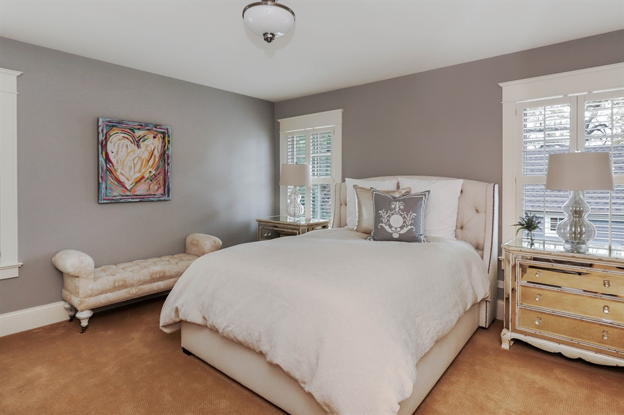Real Estate Photography - 216 W Cook Avenue, Libertyville, IL, 60048 - 3rd Bedroom