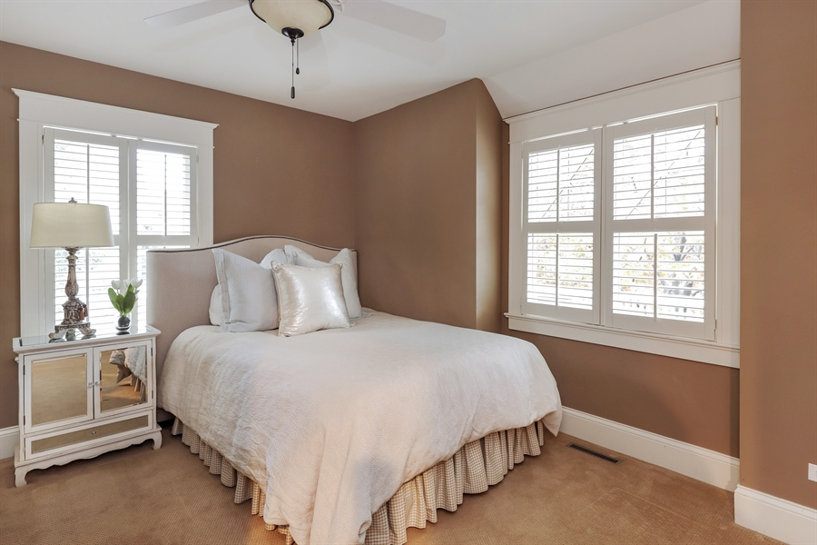 Real Estate Photography - 216 W Cook Avenue, Libertyville, IL, 60048 - Bedroom