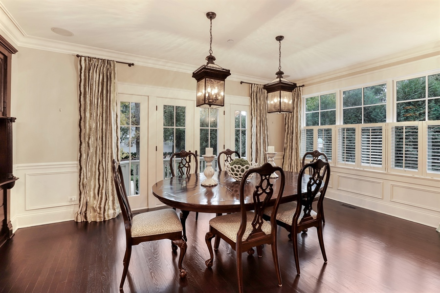 Real Estate Photography - 216 W Cook Avenue, Libertyville, IL, 60048 - Dining Room