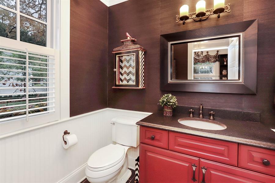 Real Estate Photography - 216 W Cook Avenue, Libertyville, IL, 60048 - Half Bath
