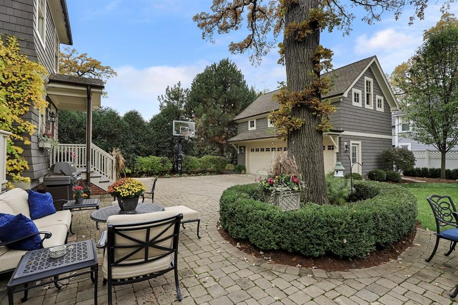Real Estate Photography - 216 W Cook Avenue, Libertyville, IL, 60048 - Patio