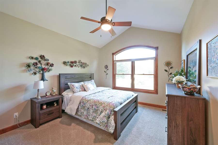 Real Estate Photography - 4231 Abercrombie Dr, Chesterton, IN, 46304 - Bedroom