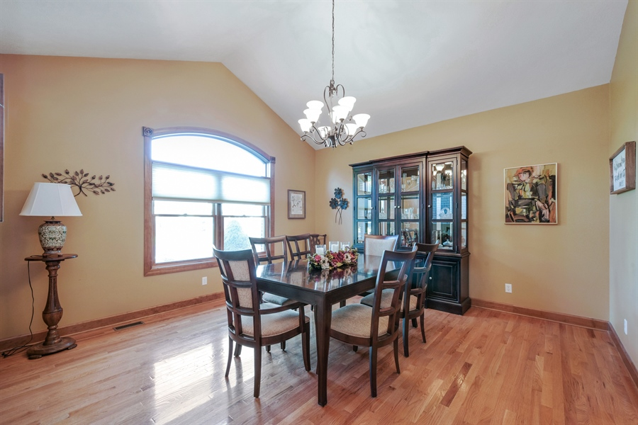 Real Estate Photography - 4231 Abercrombie Dr, Chesterton, IN, 46304 - Dining Room
