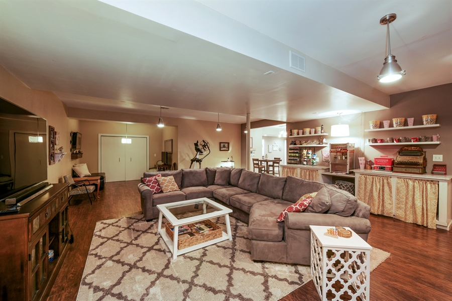 Real Estate Photography - 4231 Abercrombie Dr, Chesterton, IN, 46304 - Family Room