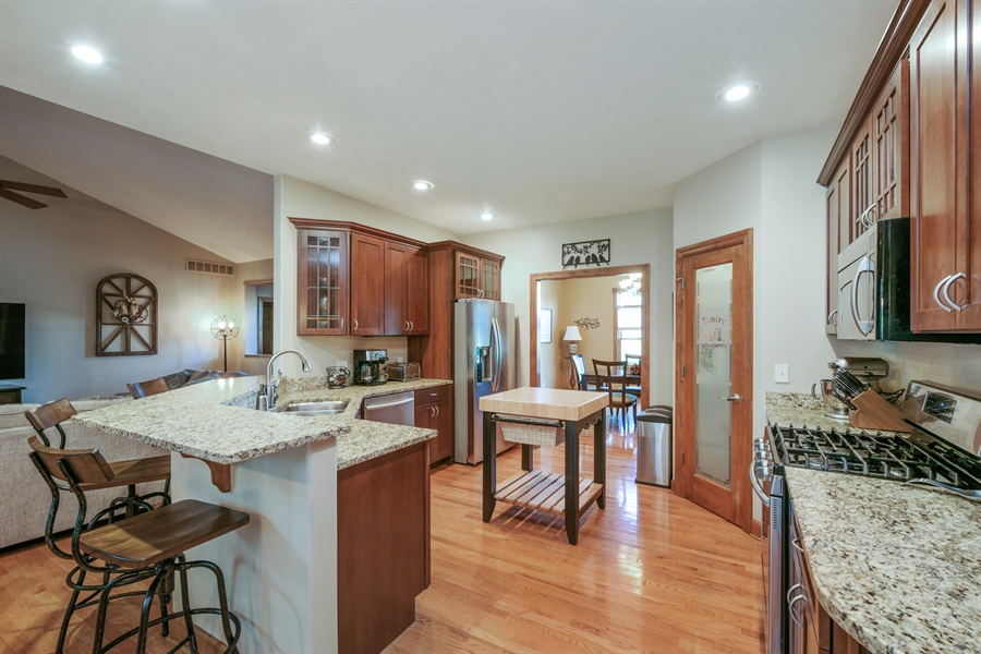 Real Estate Photography - 4231 Abercrombie Dr, Chesterton, IN, 46304 - Kitchen