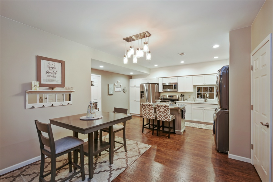 Real Estate Photography - 4231 Abercrombie Dr, Chesterton, IN, 46304 - Kitchen/Dining