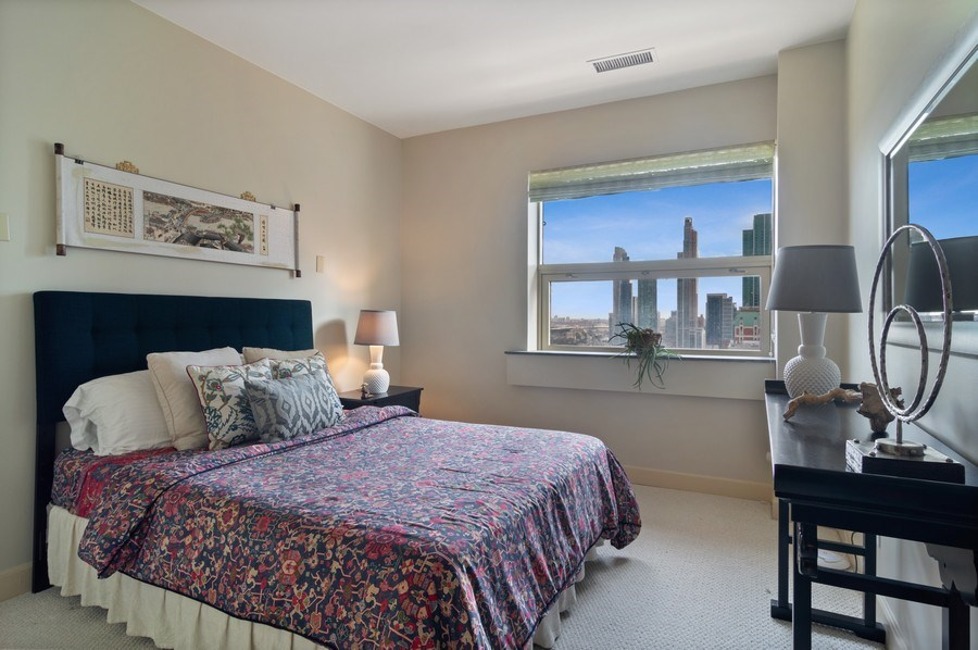 Real Estate Photography - 330 S Michigan, 1905, Chicago, IL, 60604 - 3rd Bedroom