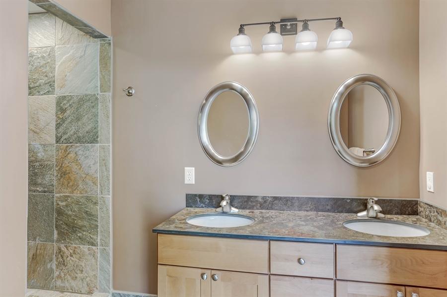 Real Estate Photography - 211 Brockway, South Haven, MI, 49090 - Master Bathroom