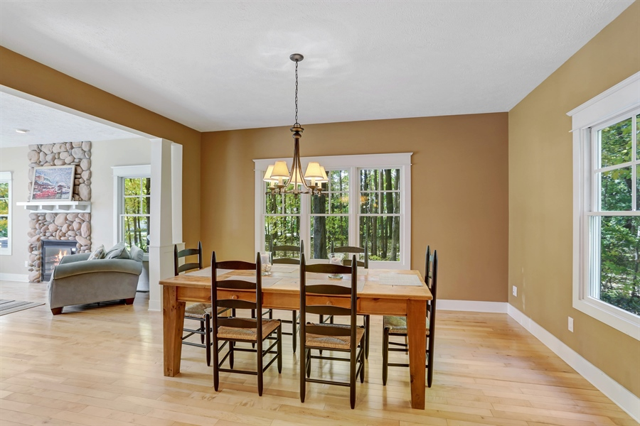 Real Estate Photography - 211 Brockway, South Haven, MI, 49090 - Dining Room