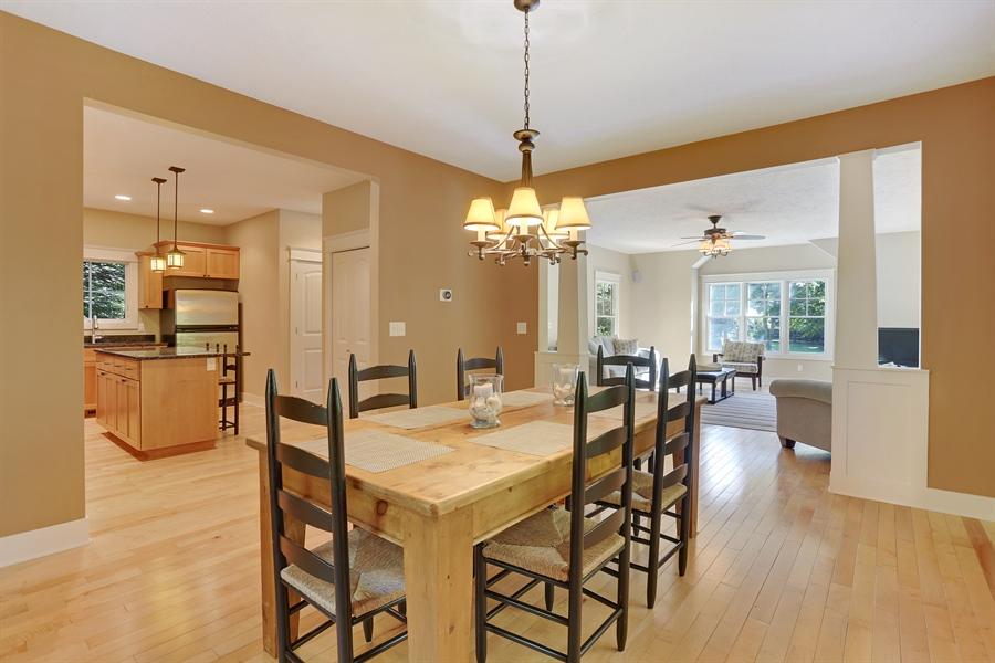 Real Estate Photography - 211 Brockway, South Haven, MI, 49090 - Dining Area