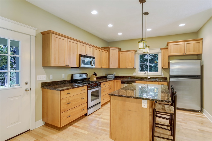 Real Estate Photography - 211 Brockway, South Haven, MI, 49090 - Kitchen