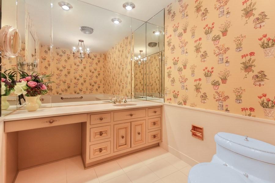 Real Estate Photography - 1040 Lake Shore Drive, Unit 5B, Chicago, IL, 60611 - Master Bath