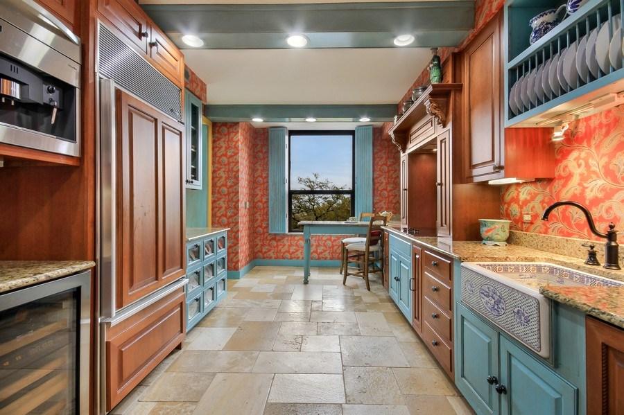 Real Estate Photography - 1040 Lake Shore Drive, Unit 5B, Chicago, IL, 60611 - Custom Kitchen
