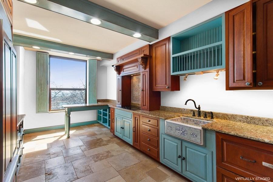 Real Estate Photography - 1040 Lake Shore Drive, Unit 5B, Chicago, IL, 60611 -