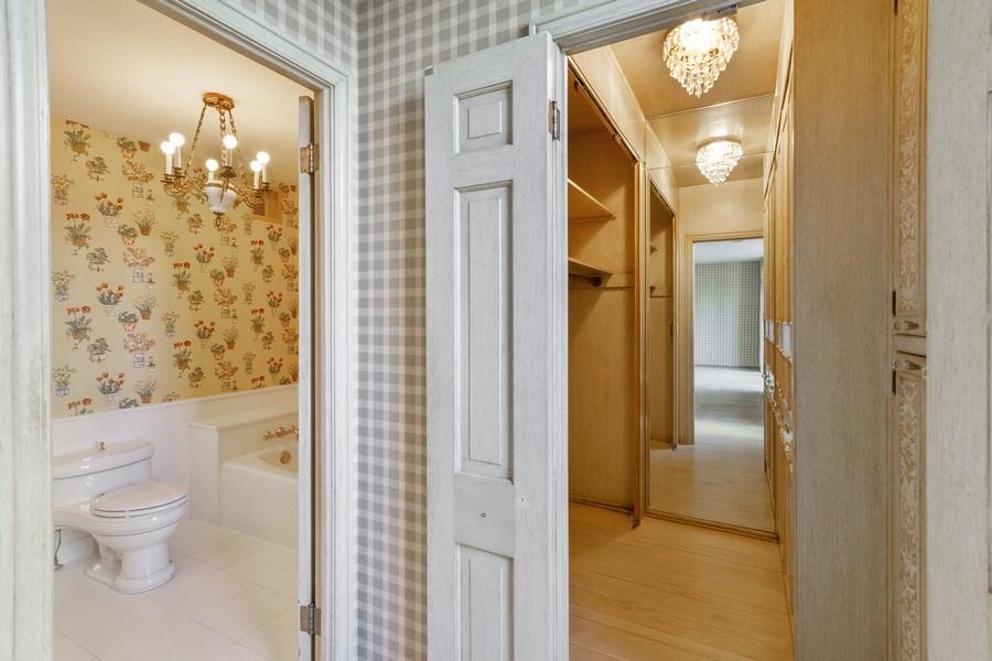 Real Estate Photography - 1040 Lake Shore Drive, Unit 5B, Chicago, IL, 60611 - Master Bedroom Closet