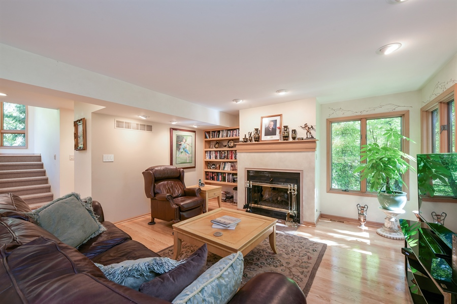 Real Estate Photography - 403 E Roberts Ave, Beverly Shores, IN, 46301 - Living Room