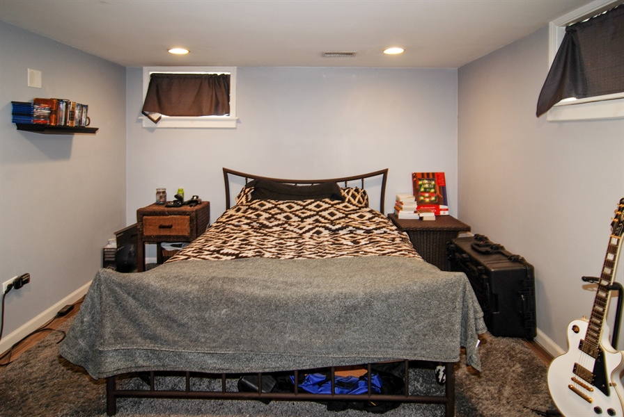Real Estate Photography - 1224 N Ashbel Ave, Berkeley, IL, 60163 - Bedroom