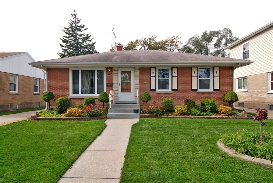 Real Estate Photography - 1224 N Ashbel Ave, Berkeley, IL, 60163 - Front View