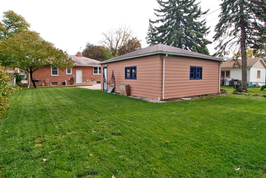 Real Estate Photography - 1224 N Ashbel Ave, Berkeley, IL, 60163 - Rear View