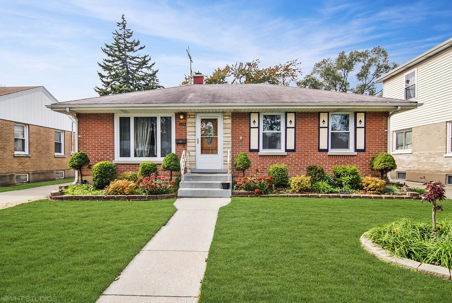 Real Estate Photography - 1224 N Ashbel Ave, Berkeley, IL, 60163 - Exterior Front