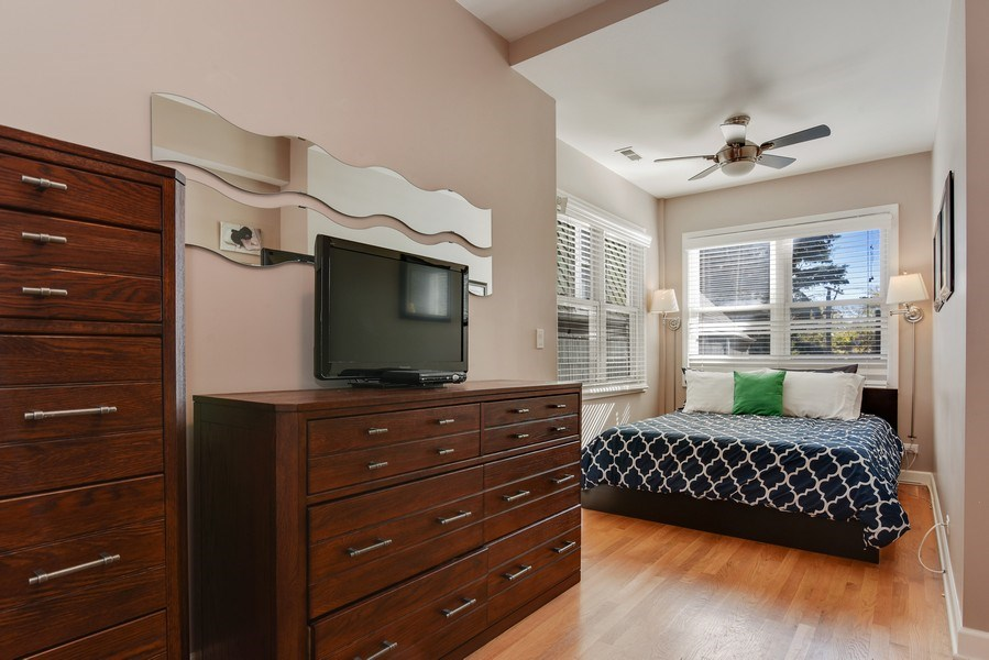 Real Estate Photography - 1849 W Newport, 2, Chicago, IL, 60657 - Master Bedroom