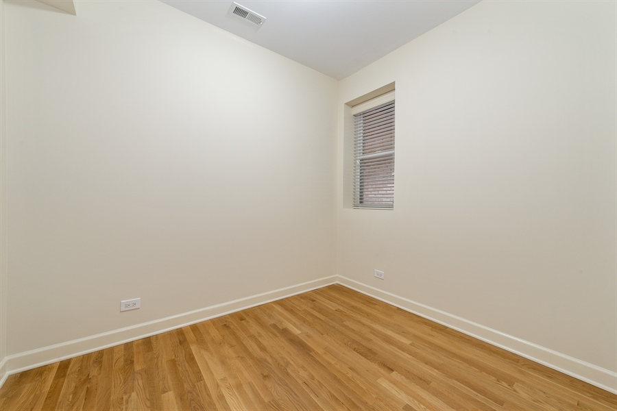 Real Estate Photography - 1849 W Newport, 2, Chicago, IL, 60657 - 2nd Bedroom