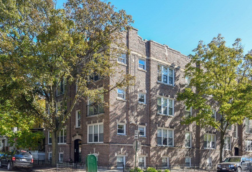 Real Estate Photography - 1849 W Newport, 2, Chicago, IL, 60657 - Front View