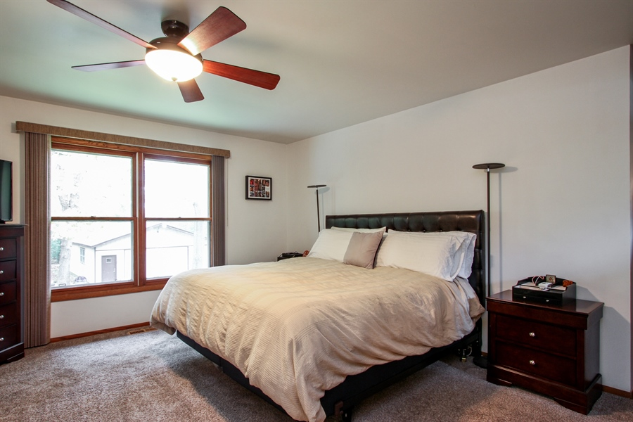 Real Estate Photography - 21758 W Brentwood Ln, Lake Villa, IL, 60046 - Master Bedroom