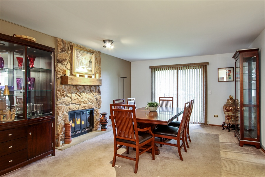 Real Estate Photography - 21758 W Brentwood Ln, Lake Villa, IL, 60046 - Dining Room