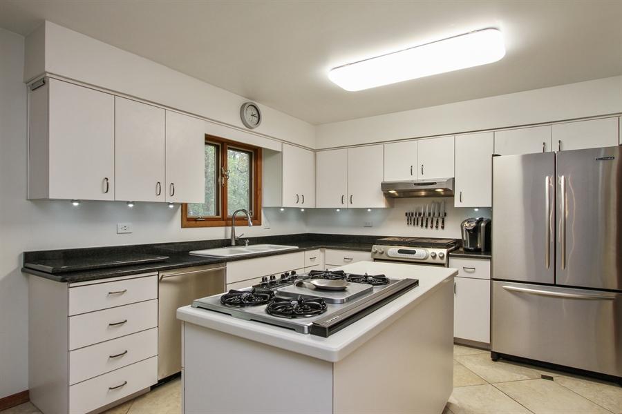 Real Estate Photography - 21758 W Brentwood Ln, Lake Villa, IL, 60046 - Kitchen
