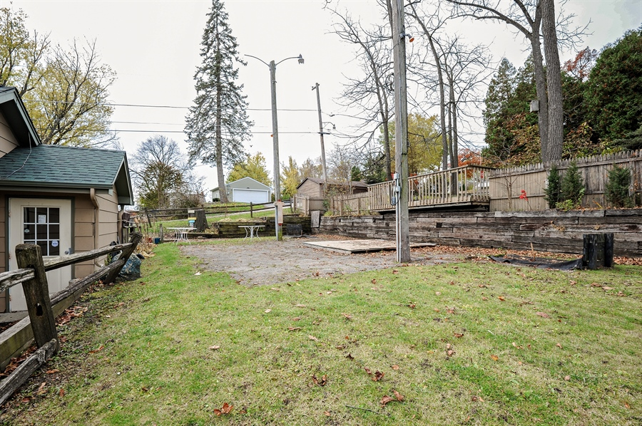 Real Estate Photography - 25344 W Richmond Ave, Antioch, IL, 60002 - Back Yard