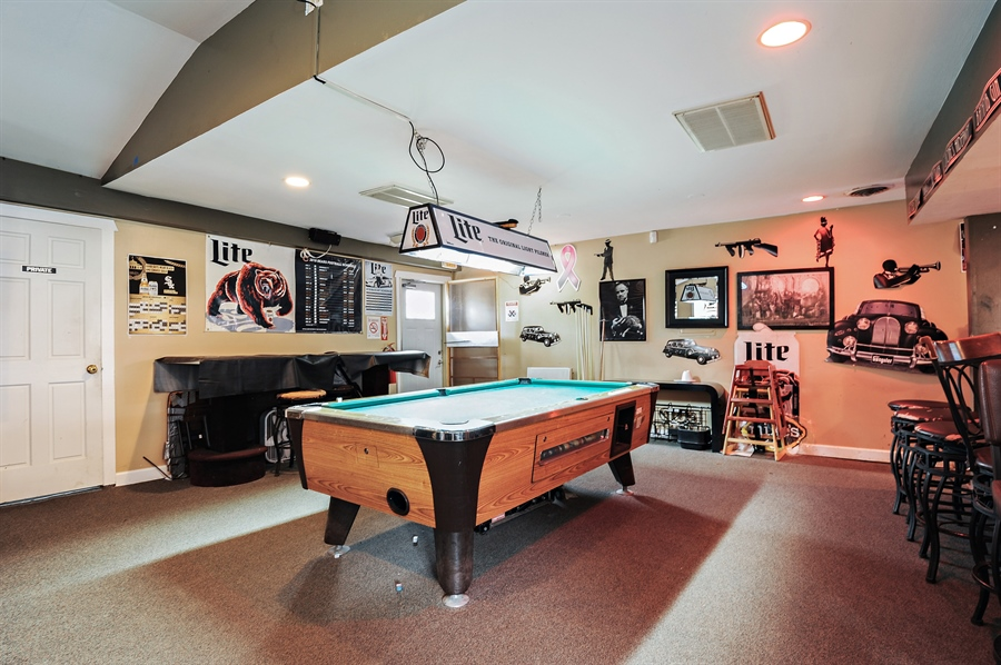Real Estate Photography - 25344 W Richmond Ave, Antioch, IL, 60002 - Pool Room