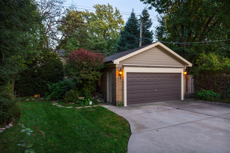 Real Estate Photography - 1215 Park Ave, River Forest, IL, 60305 - Garage